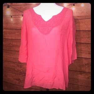 Spense Coral summer top
